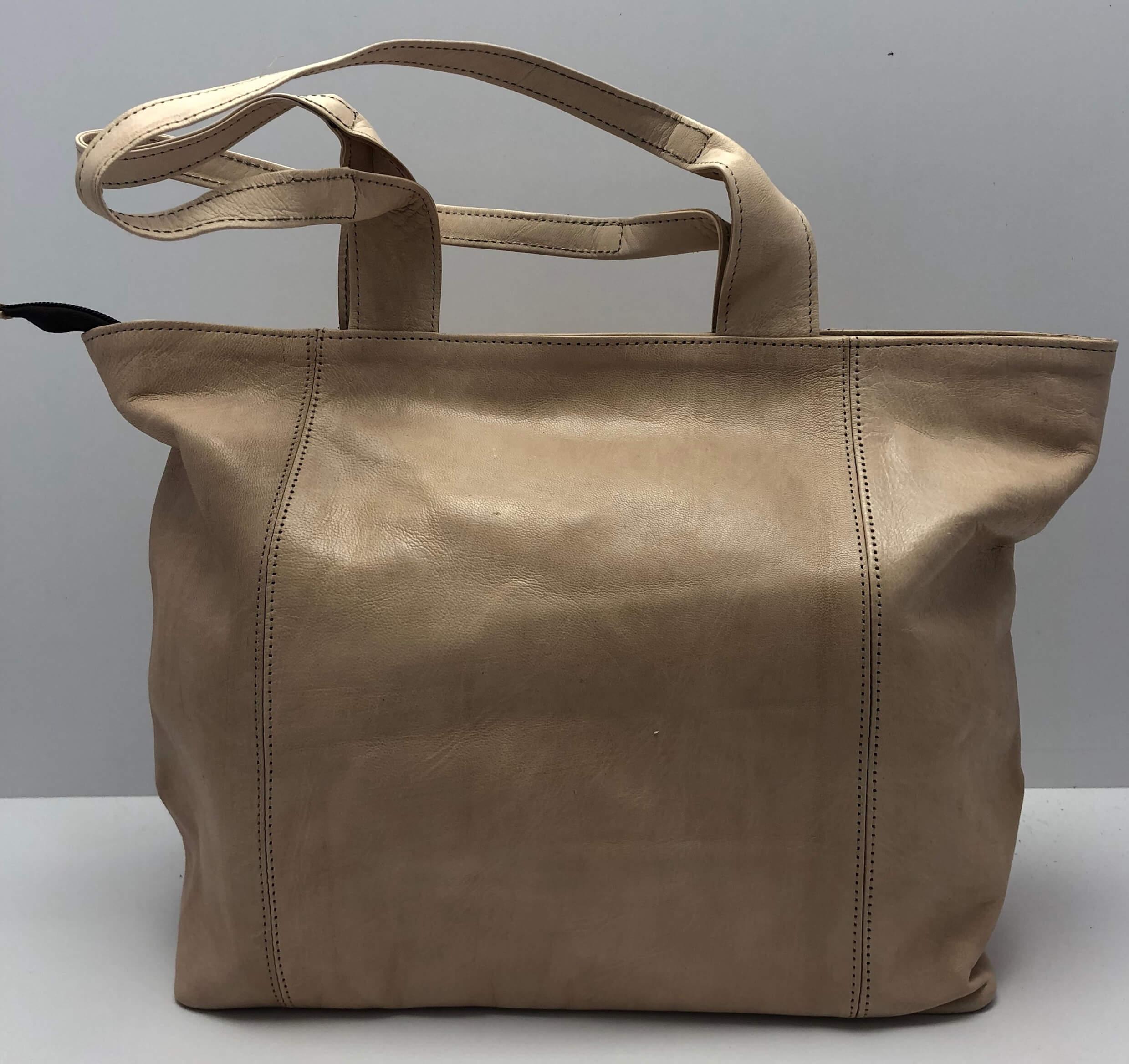 Kožená kabelka velbloudí d4a11c317e6