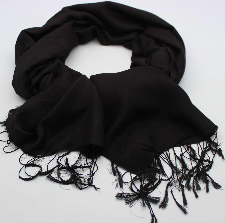 Kašmírový šátek černý 40277851c5