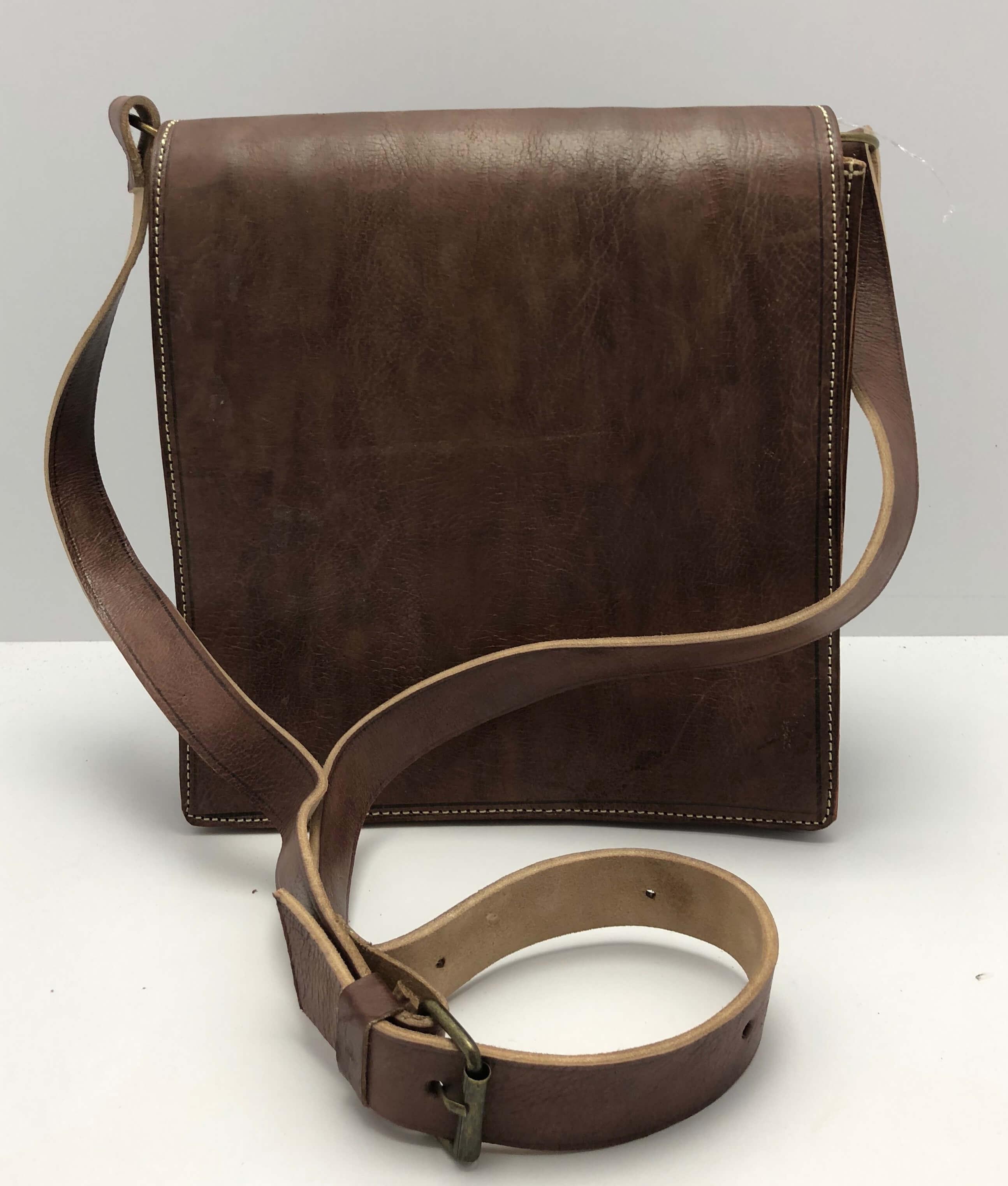 Kožená taška hnědá ded6697500c
